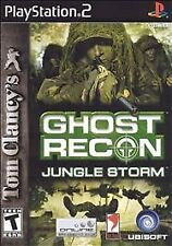 Tom Clancy's Ghost Recon: Jungle Storm (Sony PlayStation 2, 2004) -No Manual