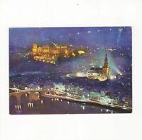 AK Ansichtskarte Heidelberg / Abendstimmung an der alten Brücke - 1973