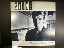 Original Sting The Dream Of Blue Turtles 1985 Vinyl Record Album A&M SP-03750