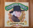 Time Life Records, Country Music, Charlie Rich NM VINYL LP NM record COVER
