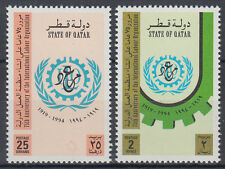Qatar 1994 ** Mi.1037/38 Arbeitsorganisation Labour Organization ILO