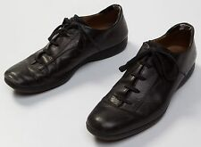 Men's Bally Camelot Black Leather Casual Fashion Sneakers Shoes Size Sz US 11 D