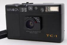 【AB Exc+】 Minolta TC-1 Limited Black Point & Shoot 35mm Film Camera JAPAN #2700