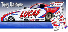 CD_MM_006 Tony Bartone - Jim Dunn Lucas Oil Funny Car   1:64 Scale DECALS