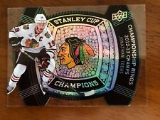 2013-14 Black Diamond Stanley Cup Champs Championship Rings Jonathan Toews