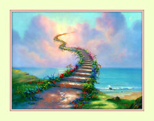 Rainbow Bridge All Pets Go to Heaven 11x14 Matd 8x10 Print Memorial Sympathy