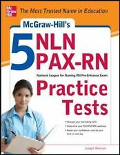 McGraw-Hill's 5 NLN PAX-RN Practice Tests, Brennan, Joseph