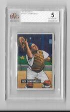 1951 Bowman Baseball Card #31 Roy Campanella Brooklyn Dodgers Autographed BVG