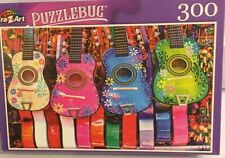 Puzzle Bug Colourful Mexican Ukuleles 300 Pc Puzzle 18x11 New Unopened