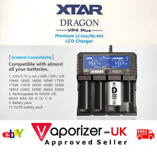 XTAR DRAGON VP4 PLUS Battery Charger, Latest 2017 Version, Authentic, Freepost