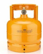 Bombola gas ricaricabile Eurocamping 2 Kg campeggio fornello barbecue arancio