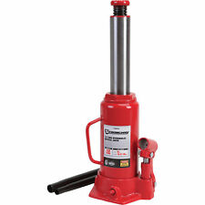 Strongway Hydraulic Bottle Jack - 12-Ton Capacity, 9in.-18 5/16in. Lift Range