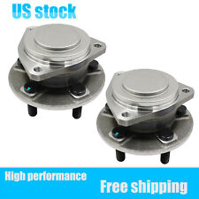 Pair(2) For Dodge Challenger Charger Front Wheel Hub Bearing Assembly 3.6L 6.4L