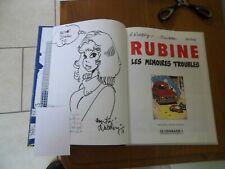 Rubine : Les mémoires troubles +dessin dédicacé+bandeau- T1-EO-C -1993