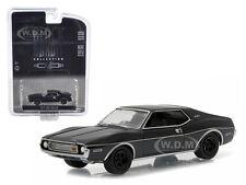 1973 AMC JAVELIN BLACK BANDIT 1/64 DIECAST MODEL CAR BY GREENLIGHT 27840 B