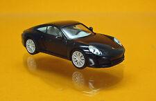 Herpa 038638-002 Porsche 911 Carrera 4S - tiefschwarzmetallic
