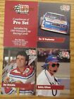 PROTOTYPE 1991 PRO SET Winston Cup Racing Trading Cards Set Lot of 3 + cover