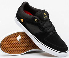 Emerica the HSU Low Vulc noir/blanc taille 45 (us 11) skate shoes skateboard
