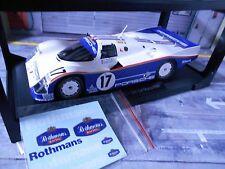 PORSCHE 962 962C 956 II Le Mans Winner 1987 #17 Stuck Bell Holbert Ro Norev 1:18
