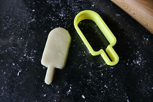 Ice lolly cookie cutter, Popsicle cookies, Fondant cutter