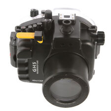 40M Waterproof Underwater Housing Case Cover For Panasonic DMC-GH5 DSLR Camera