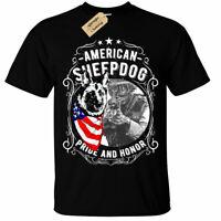 American Sheepdog T-Shirt Unisex Mens