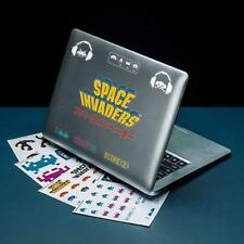 Space Invaders Kids Gadget Decals Set Of 60 Vinyl Removable Stickers FREE Post