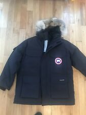 GENUINE CANADA GOOSE MEN'S EXPEDITION PARKA JACKET - NAVY