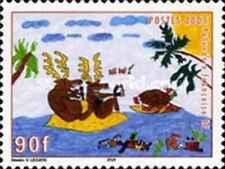 Timbre Religion Noel Polynésie 760 ** année 2005 lot 5706