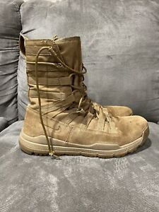 "NIKE SFB GEN 2 8"" LEATHER TACTICAL BOOT COYOTE BROWN 922471-900 Size 11.5"