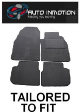 SAAB 9-3 93 2002+ 4 clips Tailored Fitted Custom made Car Floor Mats GREY CARPET