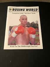 Rare Boxing World And Other Sports September 2004 Jelly The Ghost Pavlik Cover