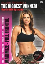 EXERCISE DVD - Jillian Michaels THE BIGGEST WINNER Maximize Full Frontal