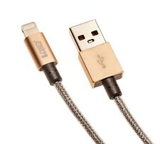 4 total MFI 3ft Nylon Braided Usb Cable Lightning Connector For Iphone 6,7,8