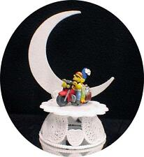 Wedding Cake Topper Motorcycle Homer & Marge The Simpsons Simpson  top Fuuny