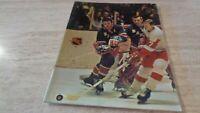 1969-70 New York Rangers @ Chicago Black Hawks NHL Hockey Program - EX