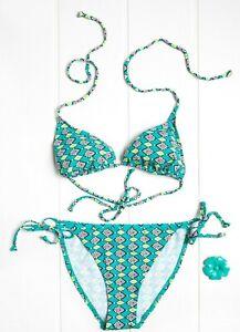Punto Blanco Women's Turquoise Bikini Set - 34B
