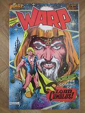 WARP #1 FIRST COMICS FINE/VERY FINE (W14)