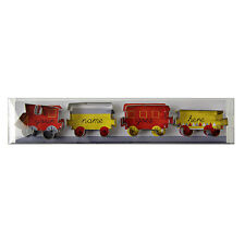 Meri Meri Train Metal Cookie Cutter Set for kids birthday party - Brand NEW!