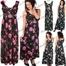 V-Neck Floral Women's Maxi Dresses