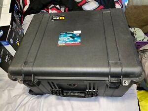 Pelican 1620 Watertight Hard Case with Cubed Foam Interior  Wheels - Black