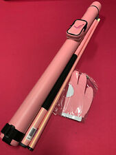 New Pink For The Cure Pool Cue With Case And Glove Combo Billiards Stick