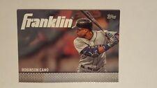 2016 Topps Franklin #TF-3 Robinson Cano Baseball Card