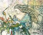 GYPSY WILDFLOWERS Lynne French Artist Signed Print 8x11