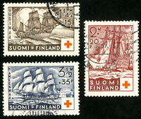 Finland Stamps # B24-6 VF Used