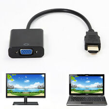HDMI to VGA Female Video Converter Cable Adapter 1080P For Laptop Projector TV