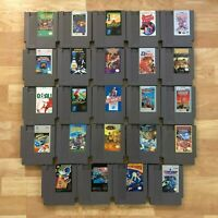 Lot of 24 Nintendo Entertainment System NES Games | Great Condition | Used | C13