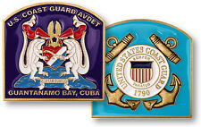 U.S. Coast Guard / AVDET Guantanamo Bay Challenge Coin