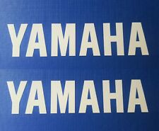 White YAMAHA GENUINE Stickers R1 R6 YZF Decal Logo Fazer R125 Aerox Moped Bike