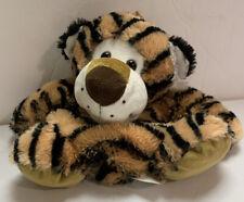 "Pack Mates Backpack Kellytoy Childs Bag Stuffed Tiger Plush 12"" Soft"